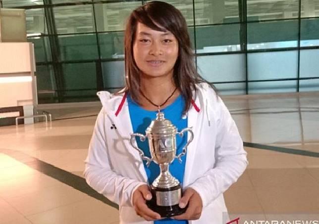 Australian Open Champion Priska Madelyn Nugroho Arrives in Indonesia